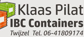 IBC Containers Klaas Pilat